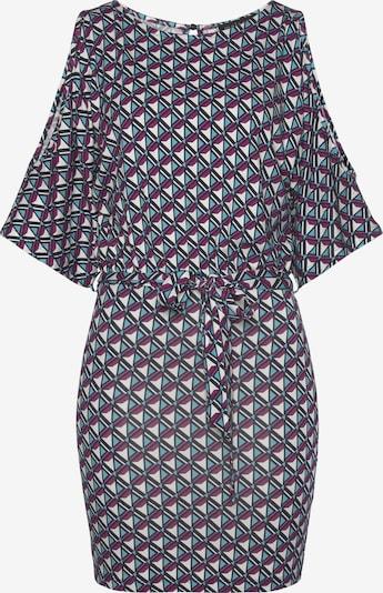 MELROSE Kleid in blau / lila / schwarz / weiß, Produktansicht