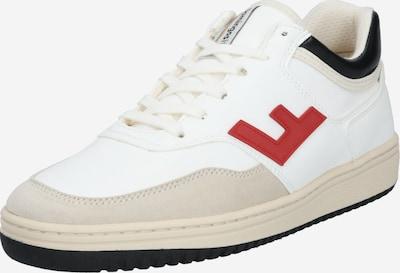 Flamingos' Life Sneaker 'RETRO 90's' in beige / rot / schwarz / weiß, Produktansicht