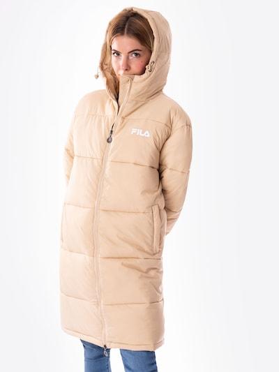 FILA Wintermantel 'Bronwen' in de kleur Beige, Modelweergave