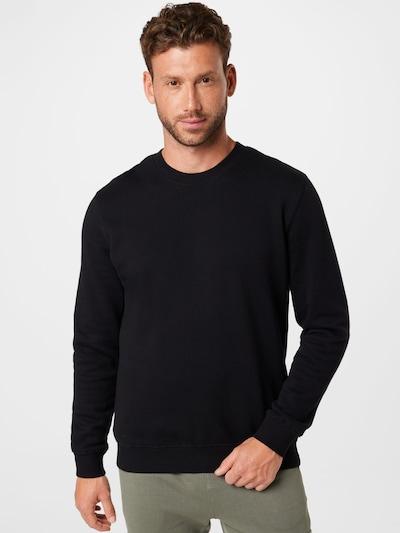 NOWADAYS Sweatshirt i svart / vit: Sedd framifrån
