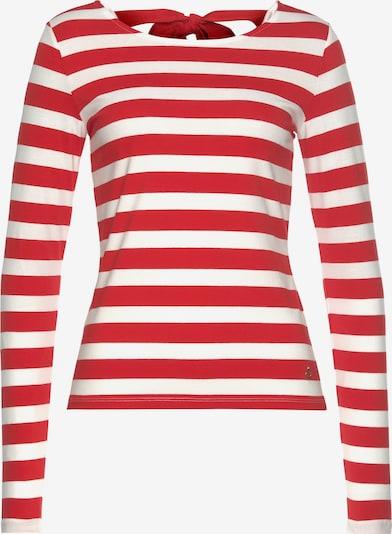 TAMARIS Shirt in Red / White, Item view
