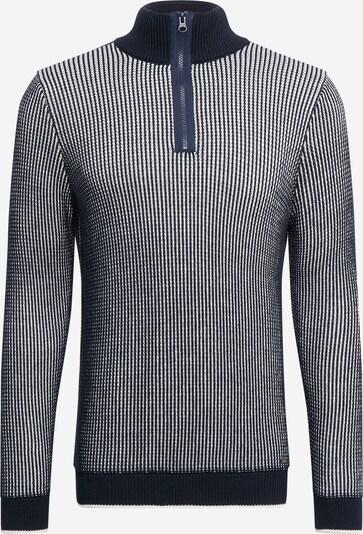 CINQUE Pullover in navy / weiß, Produktansicht