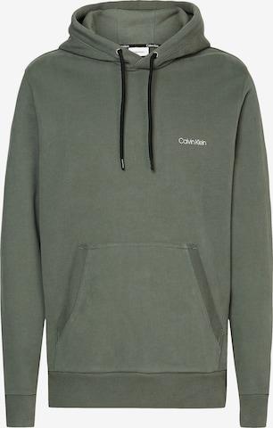 Calvin Klein Sweatshirt in Grün