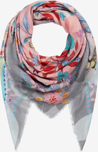 Mască de stofă CODELLO pe albastru / gri / roz deschis, Vizualizare produs