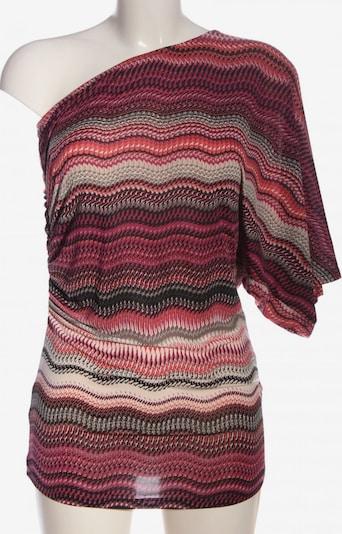 Jennifer Taylor One-Shoulder-Top in S in pink / schwarz / wollweiß, Produktansicht