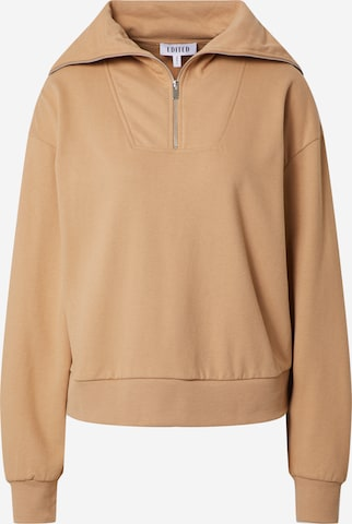 EDITED Sweatshirt 'Fionn' in Brown
