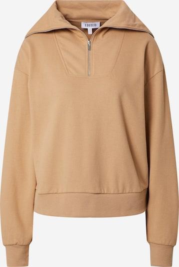 EDITED Sweatshirt 'Fionn' i brun, Produktvy
