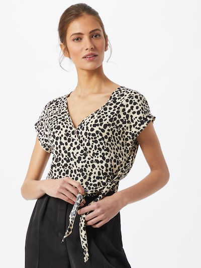 ABOUT YOU Blouse 'Jane' in Beige / Black, View model