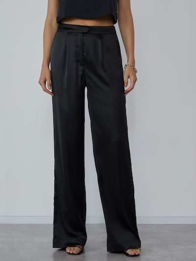 LeGer by Lena Gercke Pleat-front trousers 'Sandra' in black, View model