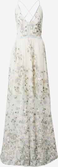 True Decadence Večernja haljina u menta / svijetlozelena / bijela, Pregled proizvoda
