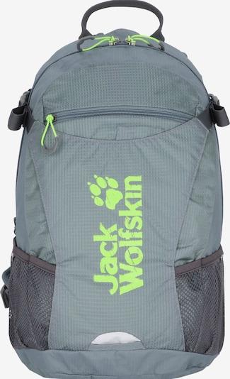 JACK WOLFSKIN Sac à dos de sport en gris / anthracite / vert fluo, Vue avec produit