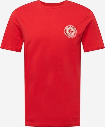hummel hive Sportshirt 'MICHAEL' in Rot