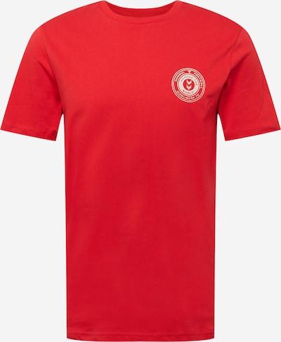 hummel hive Sportshirt 'MICHAEL' in rot / weiß, Produktansicht