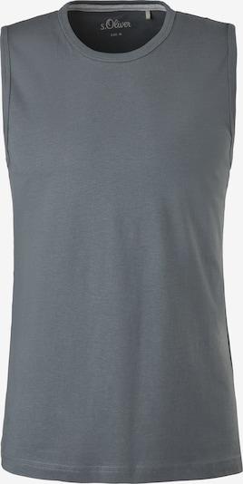 s.Oliver Shirt in de kleur Grafiet, Productweergave