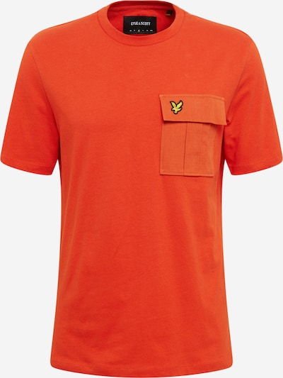 Lyle & Scott Shirt in de kleur Sinaasappel, Productweergave