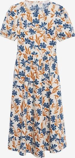 MANGO Summer Dress in Blue / Brown / White, Item view