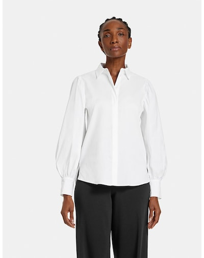 GERRY WEBER Blouse in White, View model