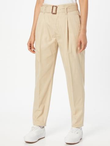 Polo Ralph Lauren Παντελόνι πλισέ σε μπεζ