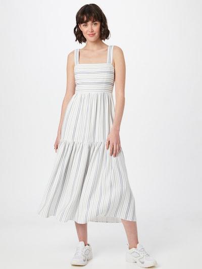 Forever New Kleid 'Siri' in blau / weiß, Modelansicht