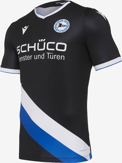 MACRON Trikot in blau / schwarz / weiß, Produktansicht