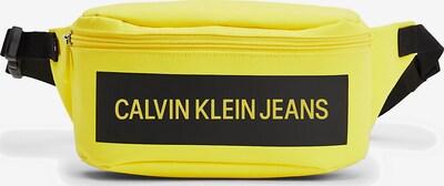 Calvin Klein Jeans Heuptas in de kleur Geel / Zwart, Productweergave