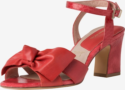 TAMARIS Sandalette in karminrot, Produktansicht