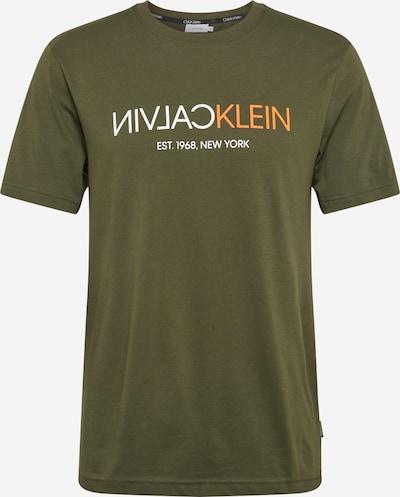 Calvin Klein Shirt in oliv, Produktansicht