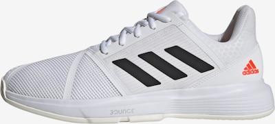 ADIDAS PERFORMANCE Sportschuh 'CourtJam Bounce' in koralle / schwarz / weiß, Produktansicht