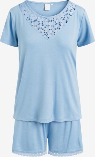 CCDK Copenhagen Pyjama 'Kirsten' in himmelblau, Produktansicht