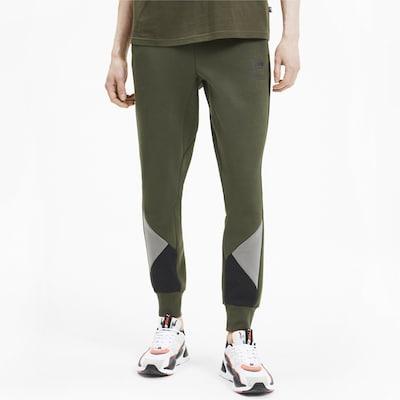 PUMA Sportbroek in de kleur Spar: Vooraanzicht