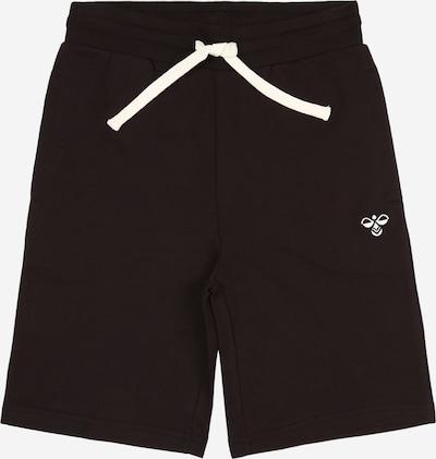 Hummel Sweatshorts in schwarz / weiß, Produktansicht