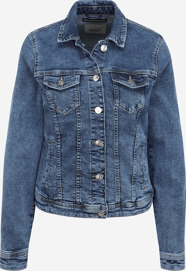 Only (Tall) Jacke  'TIA' in blue denim, Produktansicht