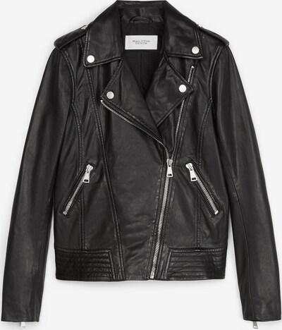 Marc O'Polo DENIM Bikerjacke in schwarz, Produktansicht