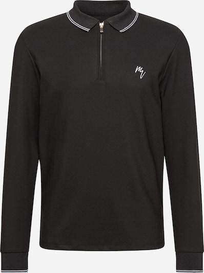 River Island Koszulka 'MAISON' w kolorze czarny / białym, Podgląd produktu