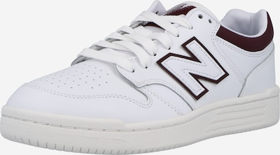 new balance Sneakers in Bordeaux / White, Item view