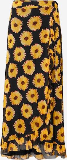 Fabienne Chapot Suknja 'Bobo Frill' u žuta / roza / crna, Pregled proizvoda