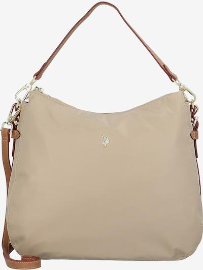 U.S. POLO ASSN. Tasche 'Houston' in beige / braun, Produktansicht