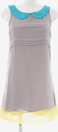 Lavand schulterfreies Kleid in S in blau / pastellgelb / hellgrau, Produktansicht