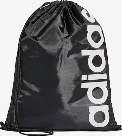 ADIDAS PERFORMANCE Turnbeutel in schwarz / weiß, Produktansicht