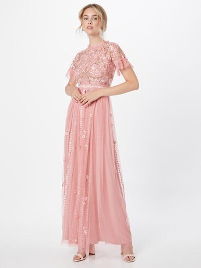 Frock and Frill Kleid in grün / rosa, Modelansicht