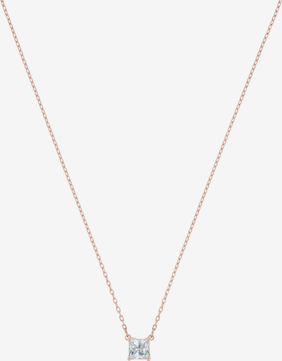 Swarovski Necklace in rose gold / white, Item view
