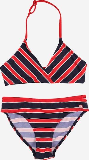 SCHIESSER Bikini in dunkelblau / rot / weiß, Produktansicht