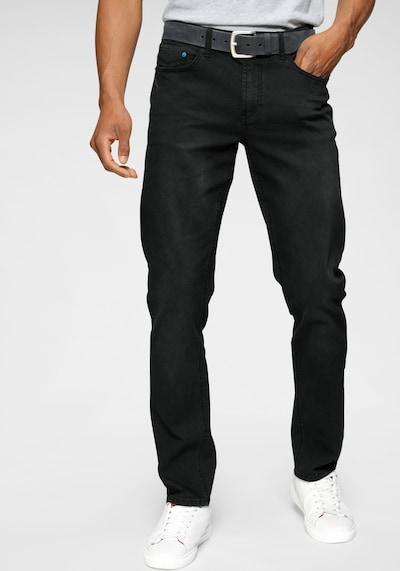 HIS JEANS H.I.S Slim-fit-Jeans »FLUSH« in schwarz, Modelansicht