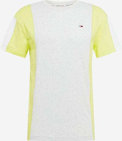 Tommy Jeans Shirt in gelb / weißmeliert, Produktansicht