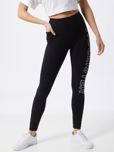 HOLLISTER Leggings in schwarz, Modelansicht