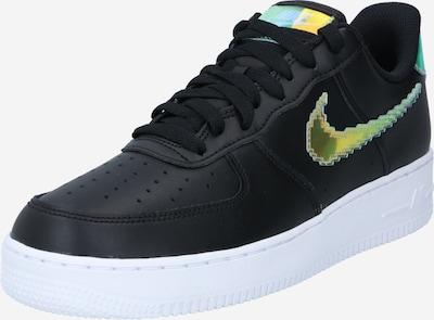 Nike Sportswear Sneaker 'Force 1 '07 LV8' in gelb / jade / schwarz, Produktansicht