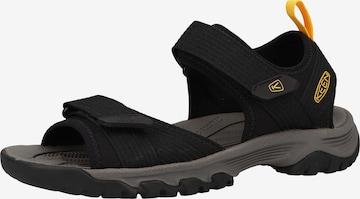 Sandales 'Targhee' KEEN en noir