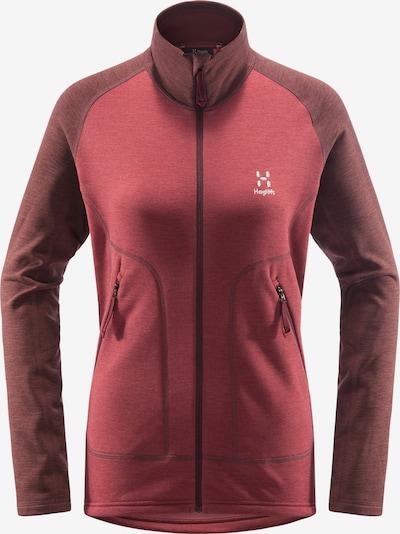 Haglöfs Functionele fleece jas 'Heron' in de kleur Rood, Productweergave