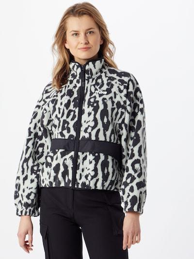 Žieminė striukė iš Nike Sportswear , spalva - pilka / juoda / balta, Modelio vaizdas