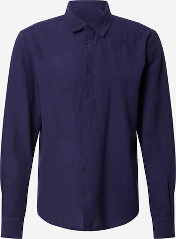 Camicia 'Baran' di DAN FOX APPAREL in blu